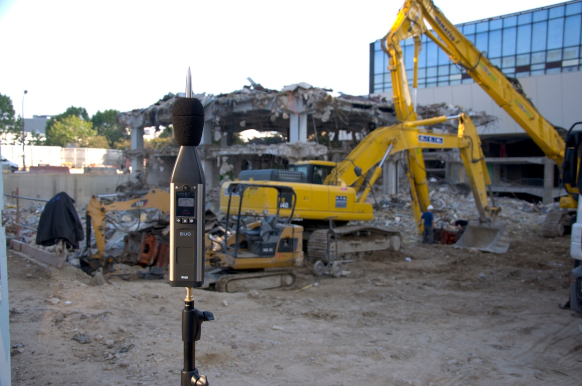 Ruido laboral en el rubro de la construcción